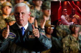U.S. Navy Sailors ordered to 'clap like we're at a strip club' for Vice-President Mike Pence