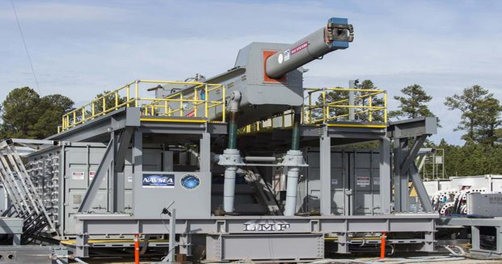 U.S. Navy plans to Run First Sea Trials of Electromagnetic Railgun aboard a warship