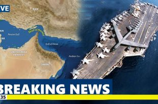 U.S. deploying bombers & Aircraft carrier in the Middle East after indications Iran planned an attack on US forces