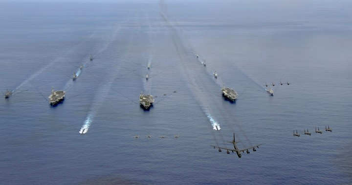 U.S. suddenly decided to send carrier strike group and Bombers To Middle East to deter Iran