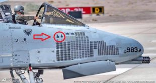 USAF A-10 Warthog that scored a simulated aerial victory against F-22 Raptor and F-16 Fighting Falcon