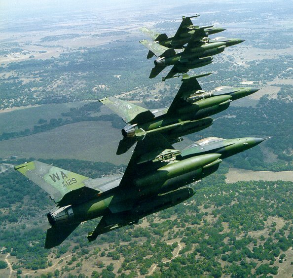 USAF developed A-16 a close air support version of F-16 a
