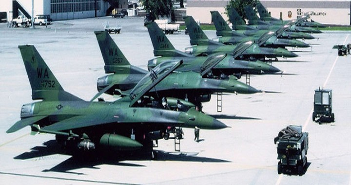 25 years ago USAF developed A-16 a close air support version of F-16 to replace A-10 WARTHOG