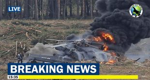 4 dead in a Ukraine Army Mil Mi-8 helicopter crash in Rivne region