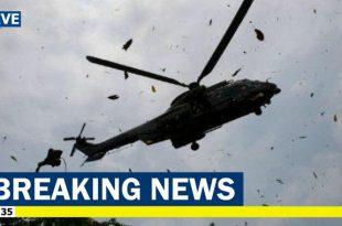 Venezuelan Army Eurocopter AS 532 Cougar helicopter crashes near Caracas, killing seven