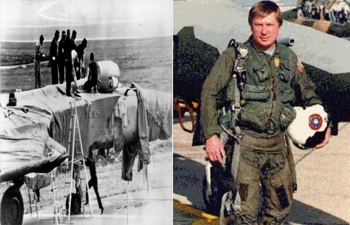 Viktor Belenko defected with his MiG-25 Foxbat