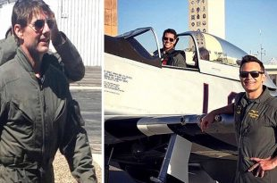 "Actor Tom Cruise Fly His Own Aircraft in Top Gun: ""Maverick"" Movie"