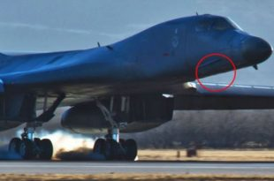 That time B-1B LANCER Bomber Crew Performed a MIRACLE Gear Up Landing on Dry Lake at Edwards AFB