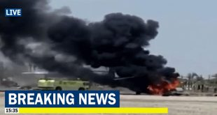 CH-53E Super Stallion Helicopter Catches Fire During Training near Marine Corps Air Station Miramar
