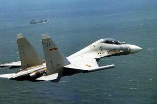 Chinese Fighter jets buzzed Canadian naval warships in East China Sea