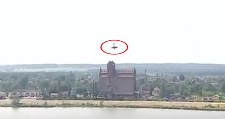 Dramatic Video Shows Yak-52 crashes into river at Polish airshow