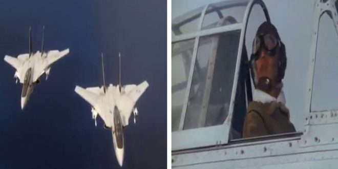 F-14 Tomcats VS Japanese Zeros Dogfight Scene from The Final Countdown Movie