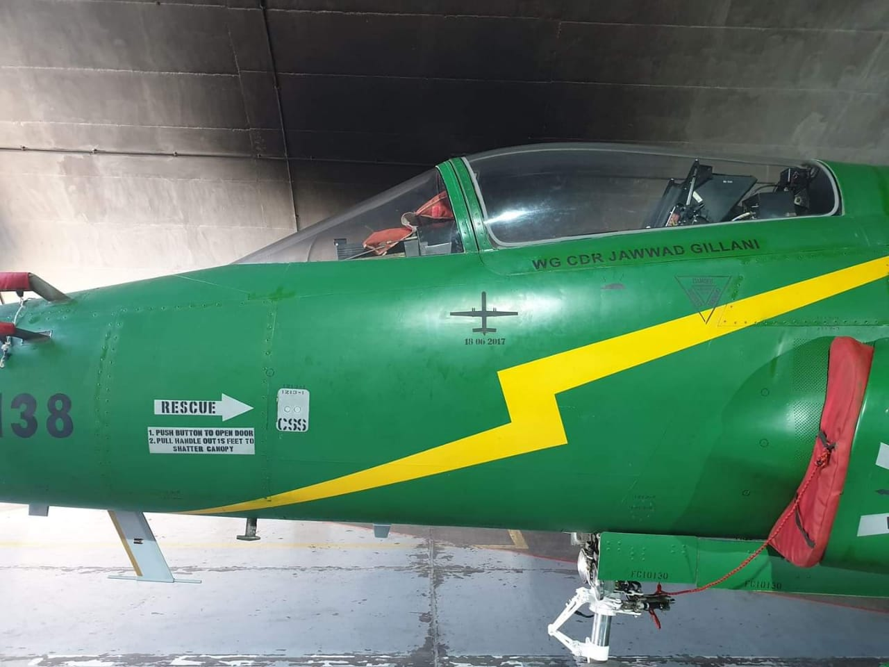 IRGC Shahed 129 UCAV Kill Mark Spotted On PAF JF-17 Thunder Fighter Jets