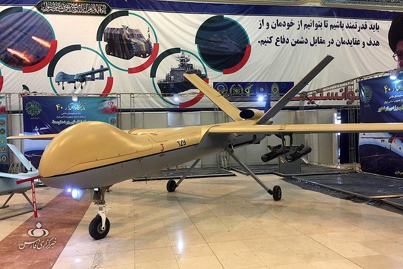 IRGC Shahed 129 UCAV