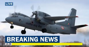 Indian Air Force AN-32 plane with 13 onboard goes missing after Take Off near China border