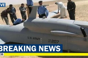 Iran's Revolutionary Guard shoots down U.S. RQ-4 Global Hawk 'spy' drone in Hormozgan Province