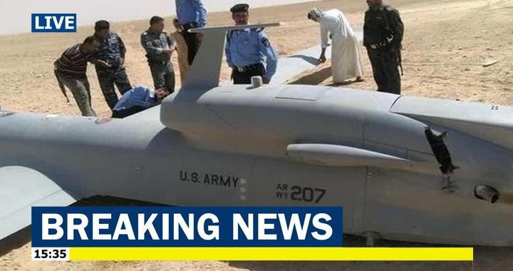 Iran's Revolutionary Guard shoots down U.S. RQ-4 Global Hawk 'spy' drone in Hormozgan Province