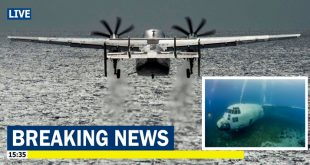 U.S. Navy recovers the wreckage of a C-2A Greyhound from 3 Miles Underwater that fatally crashed in 2017