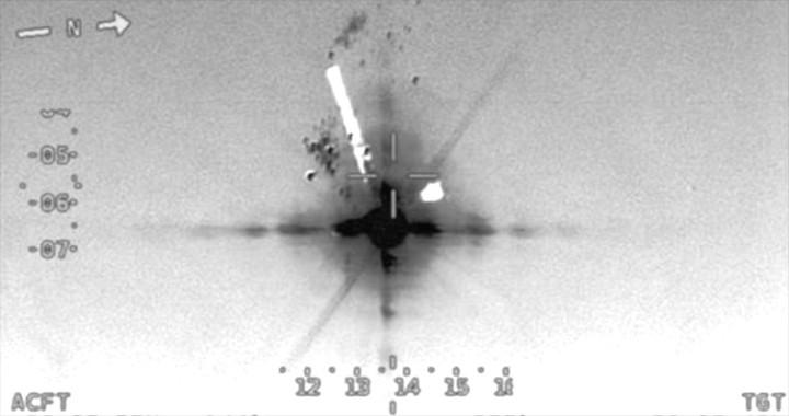 Pentagon released Video of Iran shooting down U.S. Navy MQ-4C Triton drone