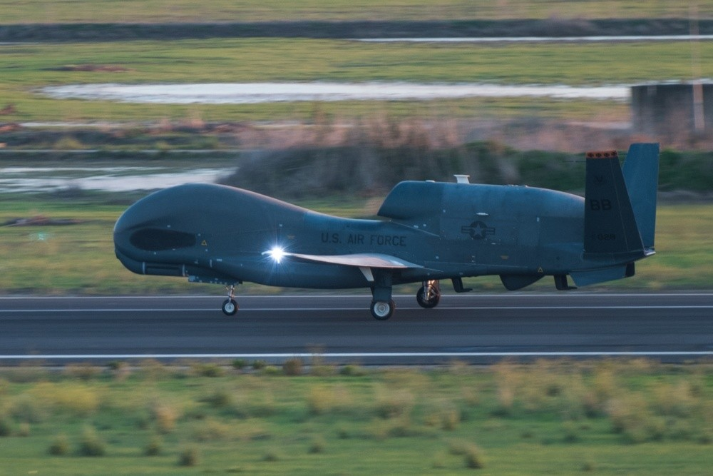 Iran's Revolutionary Guard shoots down U.S. RQ-4 Global Hawk 'spy' drone