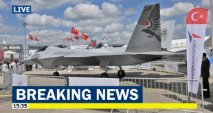 Turkey Unveils TF-X next generation fighter jet at Paris Air Show