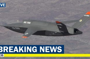 U.S. Air Force's new XQ-58A Valkyrie stealth Combat Drone makes second flight