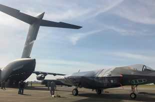 U.S. Air Force conducts first-ever F-35 shipment via C-17 Globemaster