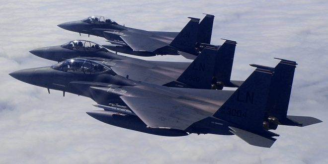 U.S. Air Force deploys F-15E Strike Eagle fighters jets to Turkey for training