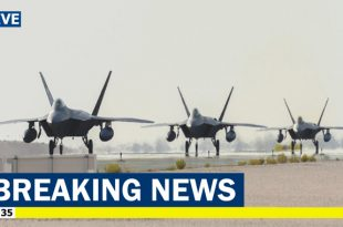 U.S. Air Force has deployed F-22 Raptors stealth fighters to Qatar amid Iran tensions