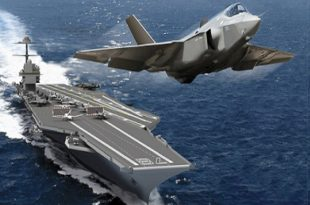U.S. Navy new super-carriers won't be able to deploy with the new F-35 stealth fighters