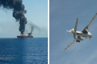 U.S. claims that Iran tried to Shoot Down U.S. Reaper Drone prior to oil tanker attack