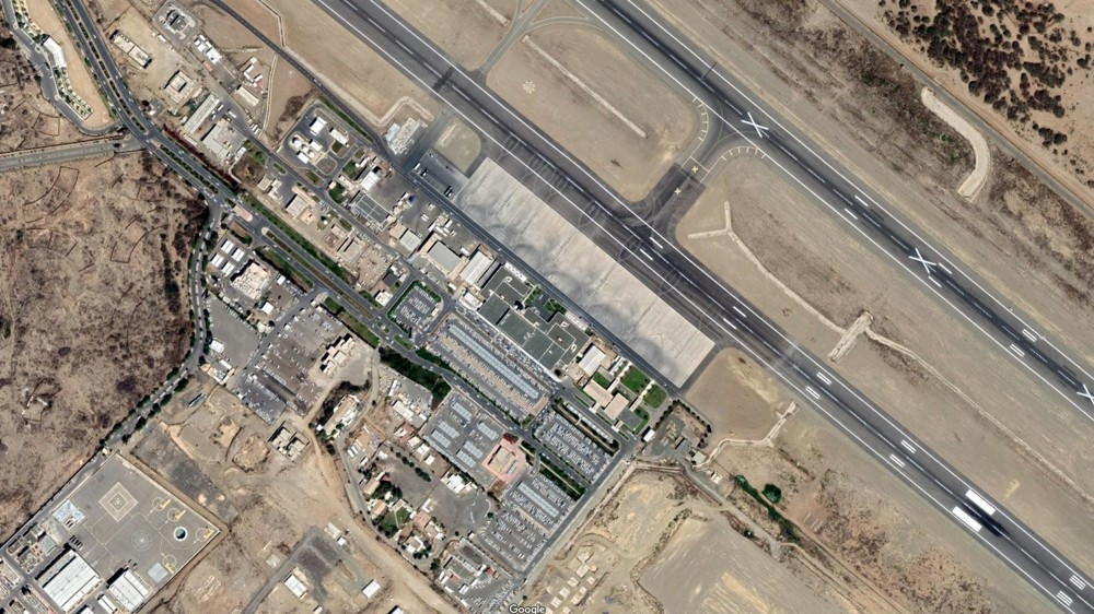 The airport in the town of Abha in Saudi Arabia's southwest [Google]