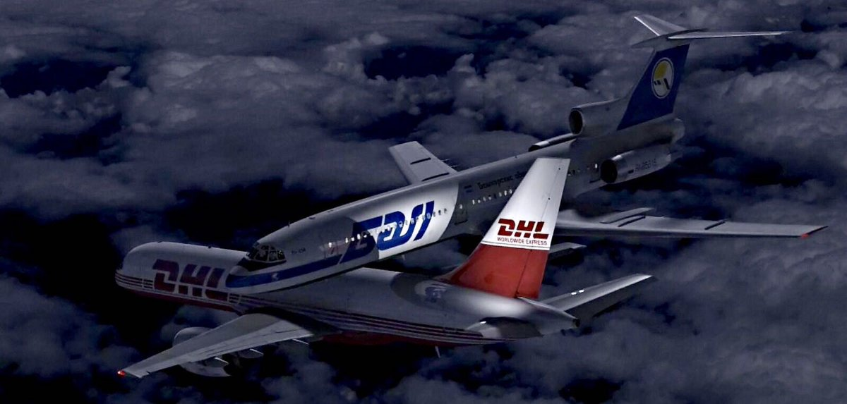 17 years ago today a mid air collision occurred between Tu-154 and DHL 757 over Überlingen