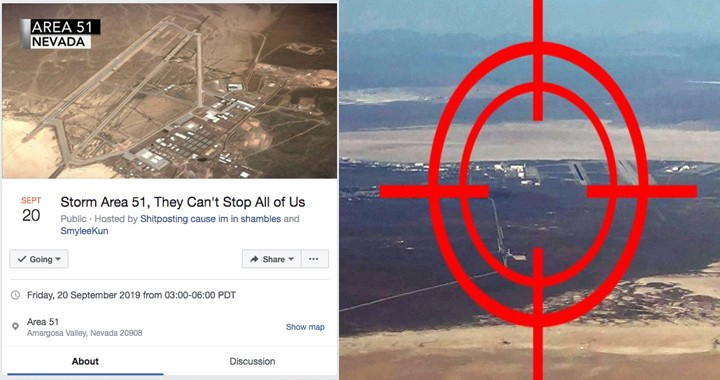 750,000 people join Facebook event to 'storm' Area 51: Here's What Would Happen If People try to Storm Area 51