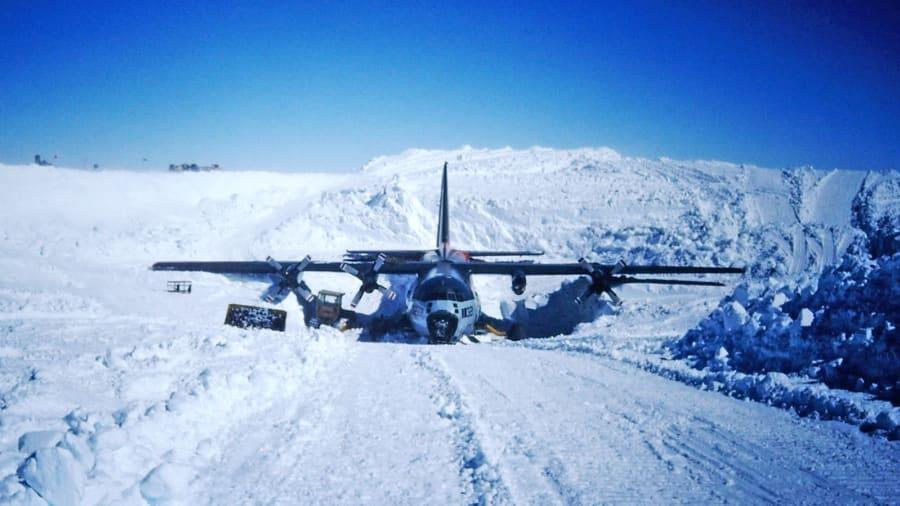 C-130 Hercules cargo aircraft (Juliet Delta 321) Recovery