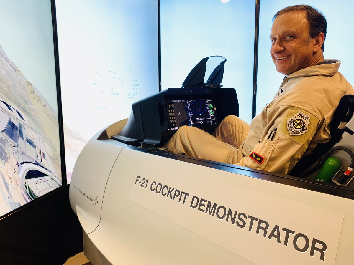 Indian Air Force Pilots test New F-21 Fighter Jet Simulator