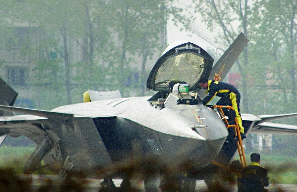 Google denies working on touchscreen tech for new Chinese J-20 stealth fighter jet