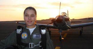 Maybeline Thoraya Boraei Alvarez 1st Muslim pilot working in Latin American air force