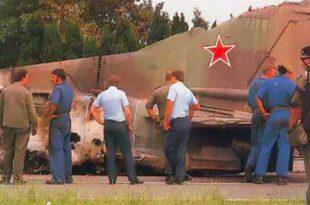 30 years ago today a Pilotless Soviet MiG-23 Jet Crossed Europe Before Crashing in Belgium