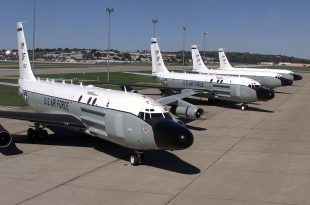U.S. Air Force sent its reconnaissance and ballistic missile detection aircraft to Persian Gulf