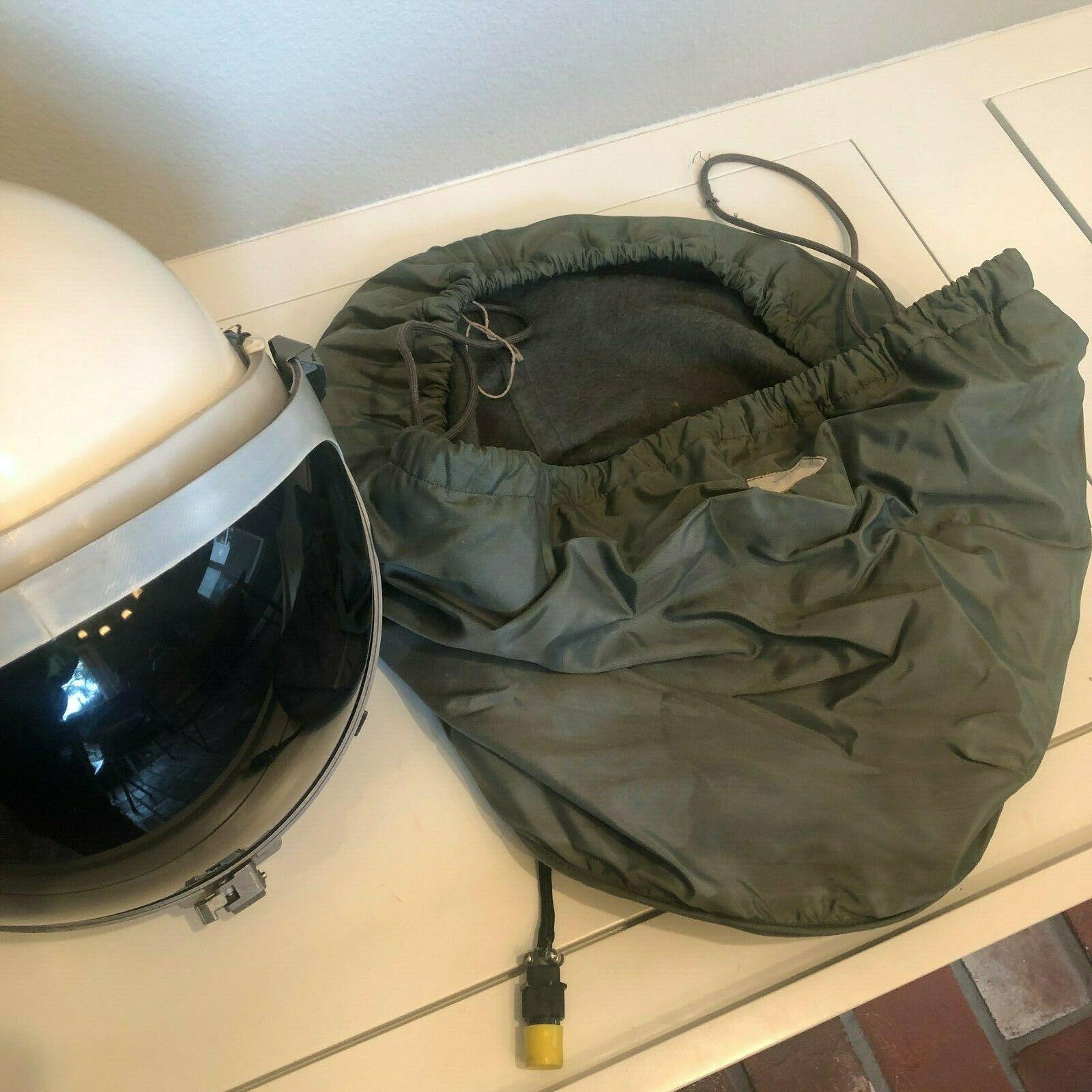 Original SR-71 Blackbird Pilot Helmet available on eBay for US $17,995.00