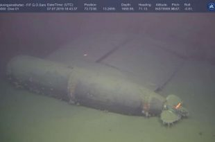 Scientists discover Radiation leak from Sunken Nuclear Submarine at Levels 800,000 times normal