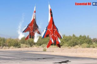 Spectacular Videos of RC Mikoyan MiG-29 OVT Vectored Thrust Demo