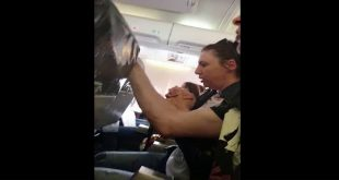 Terrifying Video Shows Flight Attendant Sent Crashing Into Ceiling by Violent Turbulence
