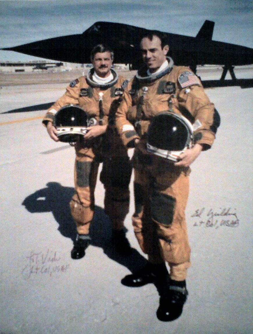 "The ""Last Flight"" of a SR-71"
