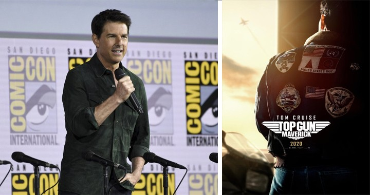 Tom Cruise Makes Surprise Appearance At Comic-Con with first 'Top Gun: Maverick' Trailer