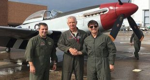 """Tom Cruise arrived on Top Gun: """"Maverick"""" set in his own $4 Million Dollar WWII Fighter Aircraft"""