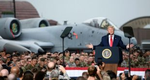 Trump tells airmen in South Korea that US will keep the A-10 Warthog as long as we can