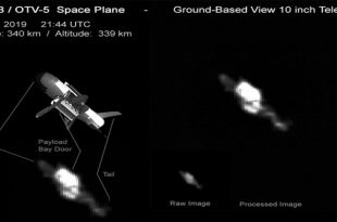 US Air Force's Top-Secret X-37B Space Plane Spotted in Orbit on Classified Mission by an Amateur Astronomer