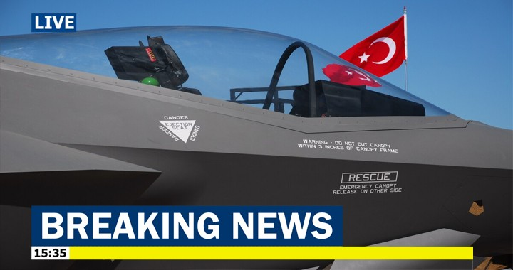 US officially removes Turkey from F-35 fighter jet programme, costing US half a billion dollars